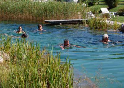 Ferienhaus-Franz - Naturschwimmbad - Gitschtal - Kärnten