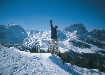 Snowboarder am Naßfeld © nassfeld.at