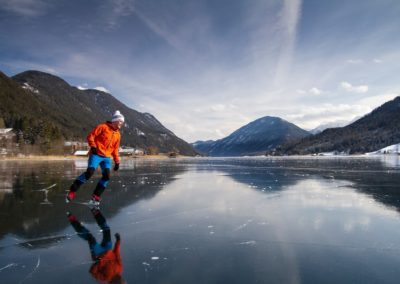 Ferienhaus-Franz - Eissport ©weissensee.com