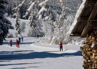 Ferienhaus-Franz - Langlaufen ©weissensee.com