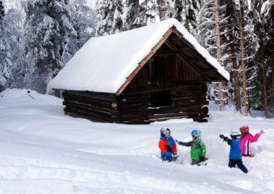 Skigebiet Weißbriach - Winterspaß - Kärnten - Österreich