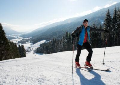 Tourengehen - Skigebiet Weißbriach - Kärnten - Österreich