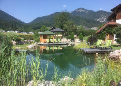 Naturschwimnbad - Weißbriach - Österreich