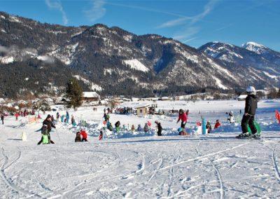 Kinderskigelände - Skigebiet Weißbriach - Kärnten - Österreich